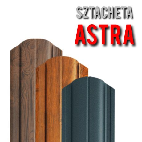 *Sztacheta Metalowa ASTRA*Sztachety Metalowe Ogrodzeniowe Blaszane
