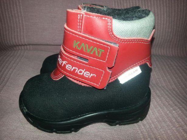 Śniegowce KAVAT Defender roz.20 , skóra nat.- NOWE ,kozaczki ,kozaki