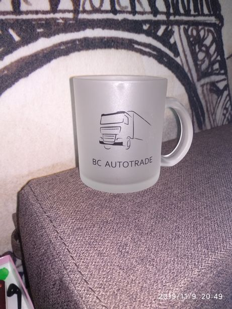 Чашка новая матовая