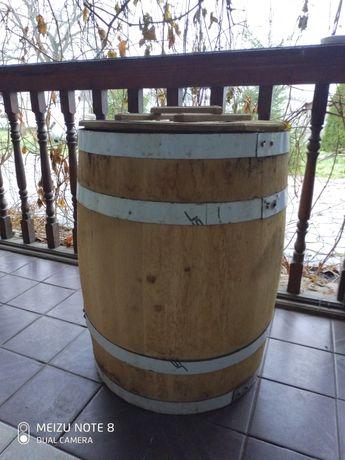 Бочка дубовая 200 литров боднарные изделия для соления