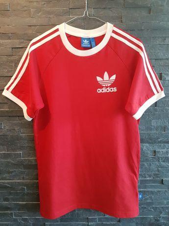 koszulka Adidas Originals rozmiar L czerwona