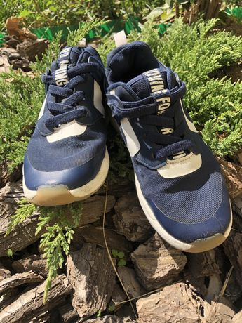Кроссовки синие h&m , 31