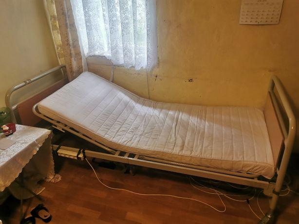 ++ Łóżko rehabilitacyjne elektryczne pilot materac ++
