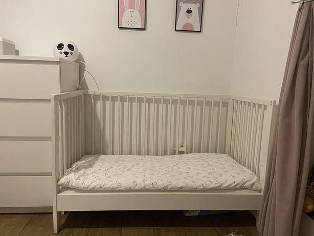 Gulliver łóżeczko dziecięce + materac 60x120