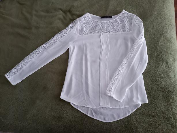 Blusa branca da Zara, tamanho S, nunca usada