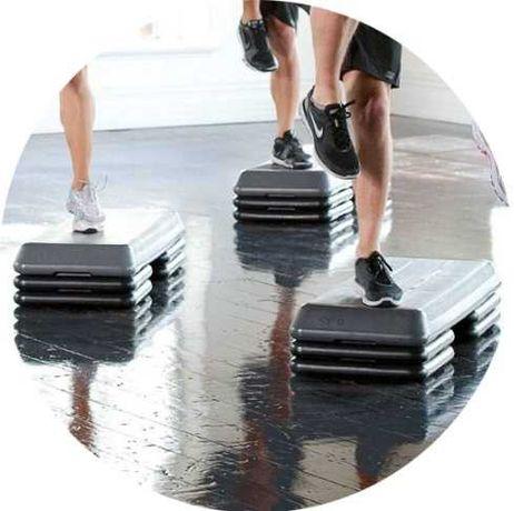 АКЦИЯ! Степ платформа для фитнеса Atleto. Упражнения, занятия. Польша!