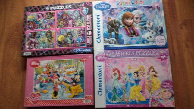 Puzzle 4 kartony