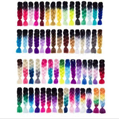Новий канекалон для плетення афрокосичок, де-кос, се-кос, дредів,софт