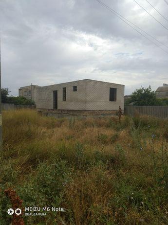 Срочно продам недостроенный дом  в городе Геническ