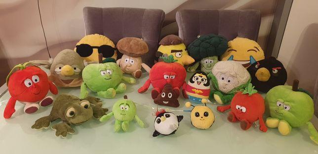 Komplet zestaw Gang Świerzaków Słodziaków z Biedronki  Emoji 19 sztuk