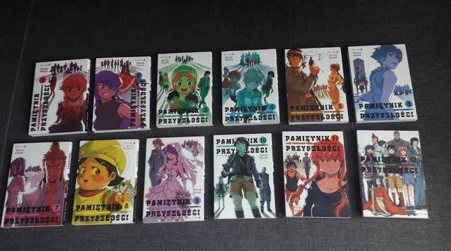 Manga Pamiętnik przyszłości 1-12 Mirai Nikki Komplet Mangi