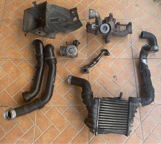 Turbo + Intercooler + EGR+ tubagens IBIZA (6l 130CV)