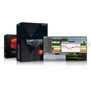 Magix Samplitude Pro x3 Suite, Sound forge pro 11, SpectraLayers Pro 4