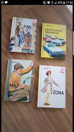 4 książki z serii jak żyć