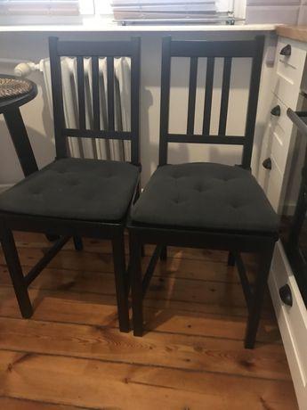 Krzesla Ikea 2 sztuki z poduszkami na krzesła