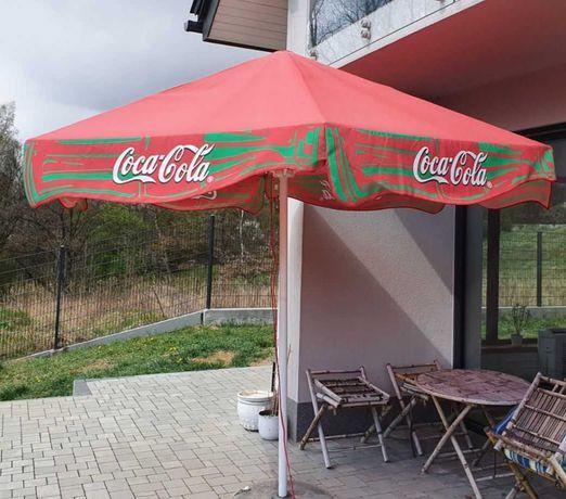 parasol restauracyjny Coca-Cola [Litex Garden]