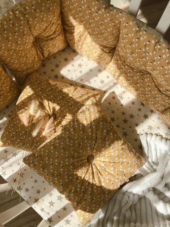 Новые бортики- подушечки