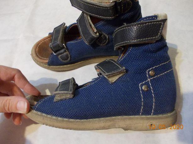 Ортопедические сандали, ортопедические босоножки 17см