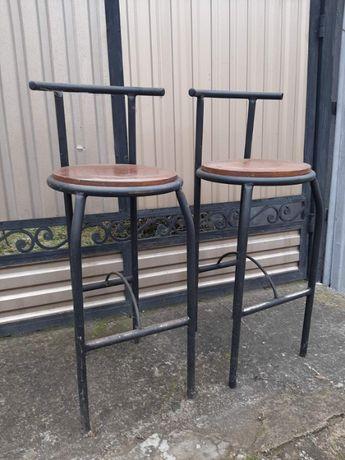 стулья барные металические