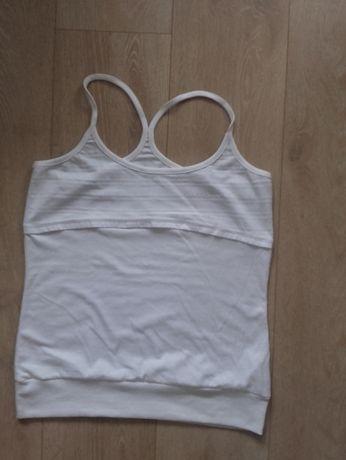 koszulka sportowa LA GEAR biała bokserka