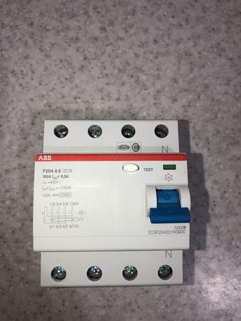 ABB УЗО F204 A S-100/0,3