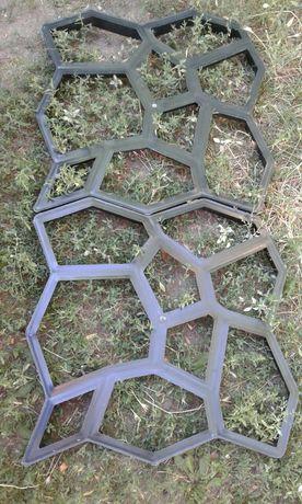 Форма для дорожный плитки