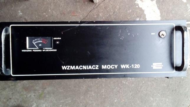 Wzmacniacz mocy Elektronika Wk-120 oryginał 120W 8Ohm znamionowej