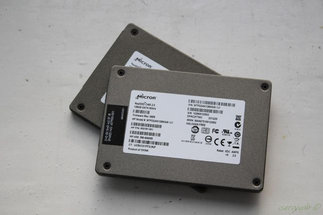 Micron RealSSD C400 128GB MLC