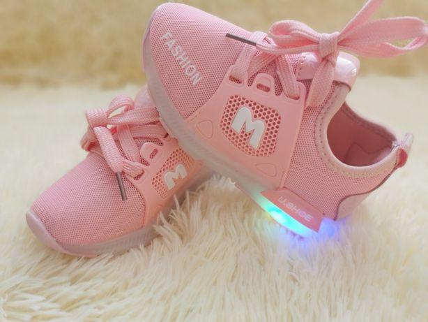 NOWE Buty dziecięce Led świecące 26 adidasy