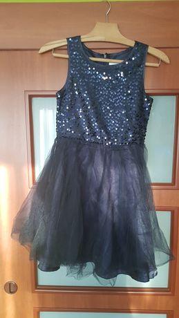 Sukienka granatowa COOL CLUB 146