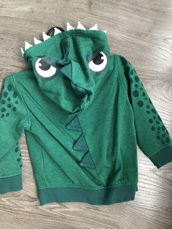 Детская кофта-динозаврик H&M
