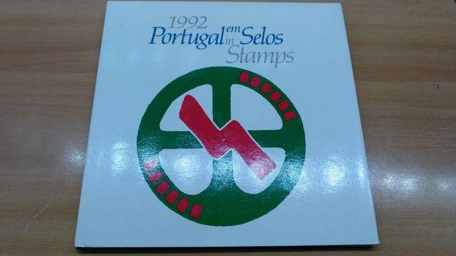 Portugal em Selos 1992 - Livro CTT com Selos
