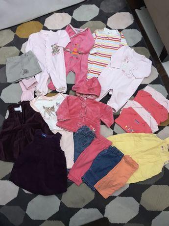 Paka zestaw ubran dziewczecych 62