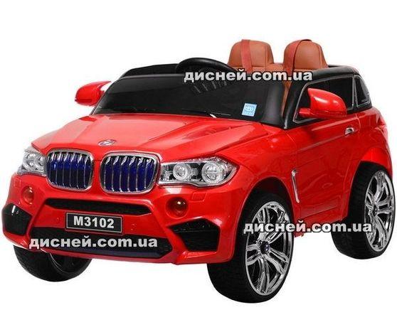 Детский электромобиль 2762 (MP4) RED BMW, Дитячий електромобiль