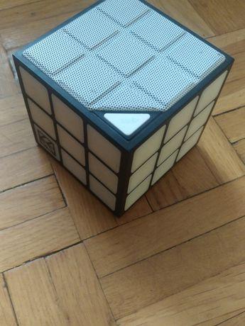 Świecący głośnik bluetooth Hykker Sound Cube Karta SD Aux