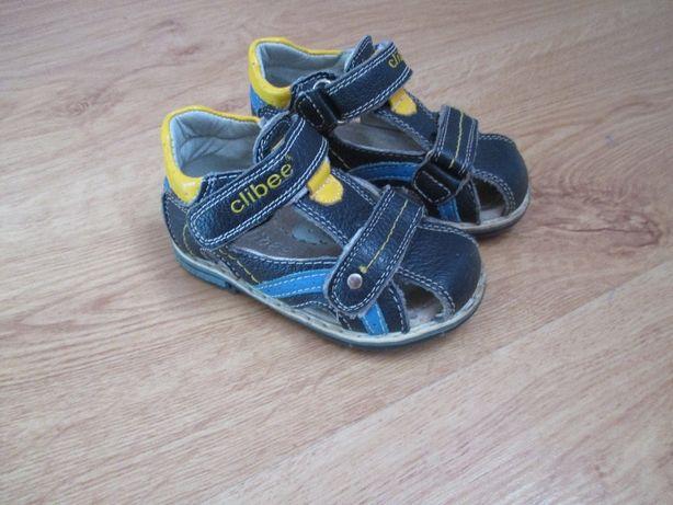 Sandały chłopięce skórzane r. 21