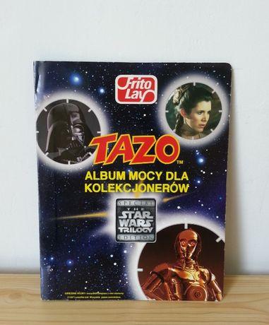 STAR WARS TAZO album kolekcjonerski Gwiezdne Wojny kompletny 50 szt.