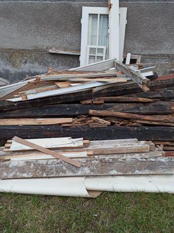 Oddam za darmo drewno z rozbiórki