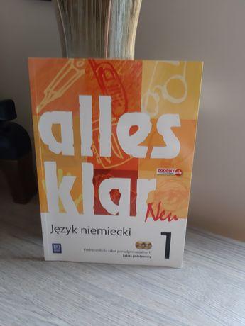 Alles klar neu niemiecki podręcznik do niemieckiego płyty