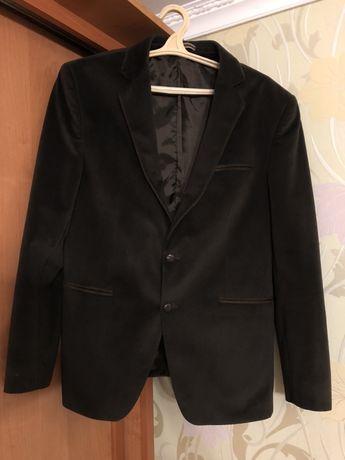 Вельветовый мужской пиджак, 52-54 размер