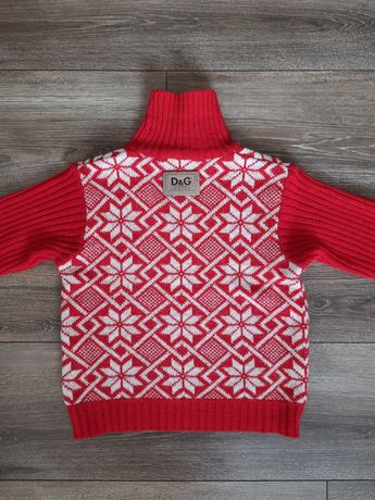 Зимний свитер D&G  для мальчика.