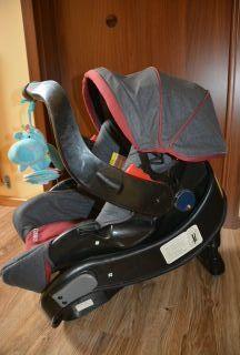 Fotelik nosidełko 0-13kg GRACO + gratis pozytywka hipopotam