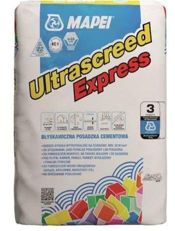 Szybka posadzka cementowa Mapei Ultrascreed Express 25 kg