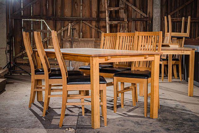 Stół drewniany dębowy 90x170cm