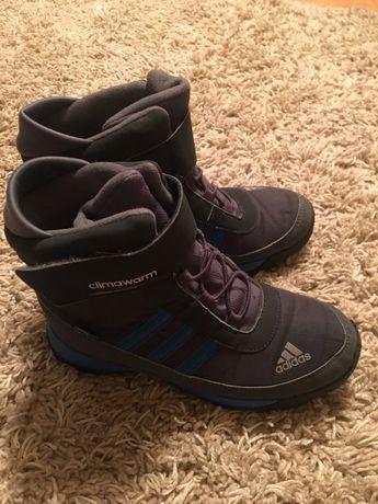 Зимние ботиночки adidas на мальчика