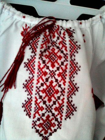 Вишита сорочка.Українська вишивка