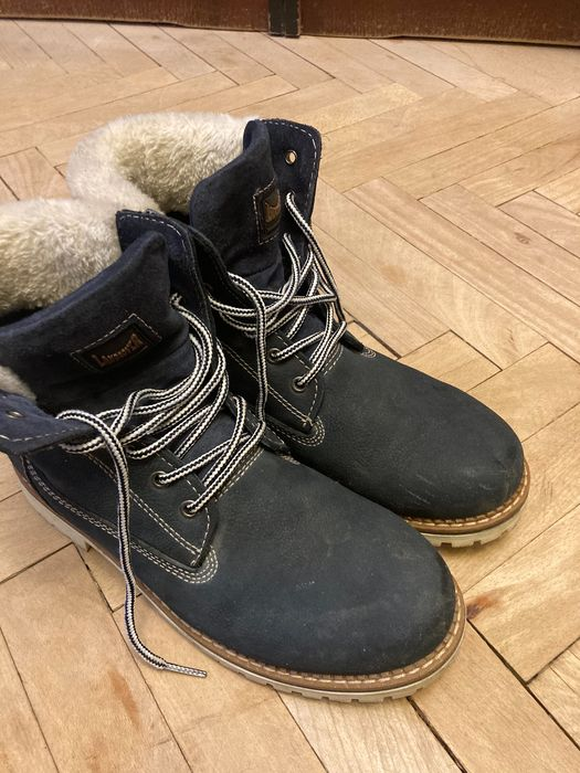 Buty skórzane męskie Landrover Nisko - image 1