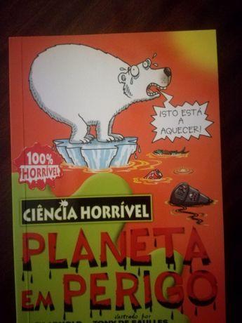 Vendo Livro Ciência Horríveis Planeta em Perigo