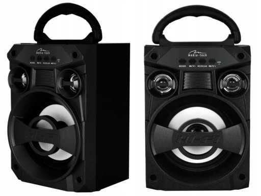 Głośnik bluetooth bezprzewodowy boombox kolumna odtwarzacz mp3