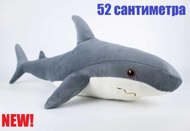 Мягкая игрушка Акула. Плюшевая акула Блохэй